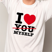 Zu den I LOVE MYSELF SHIRTS